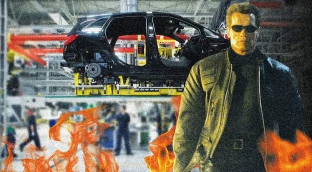 A kecskeméti Mercedes gyárban forgatják az új Terminátor-filmet Schwarzeneggerrel