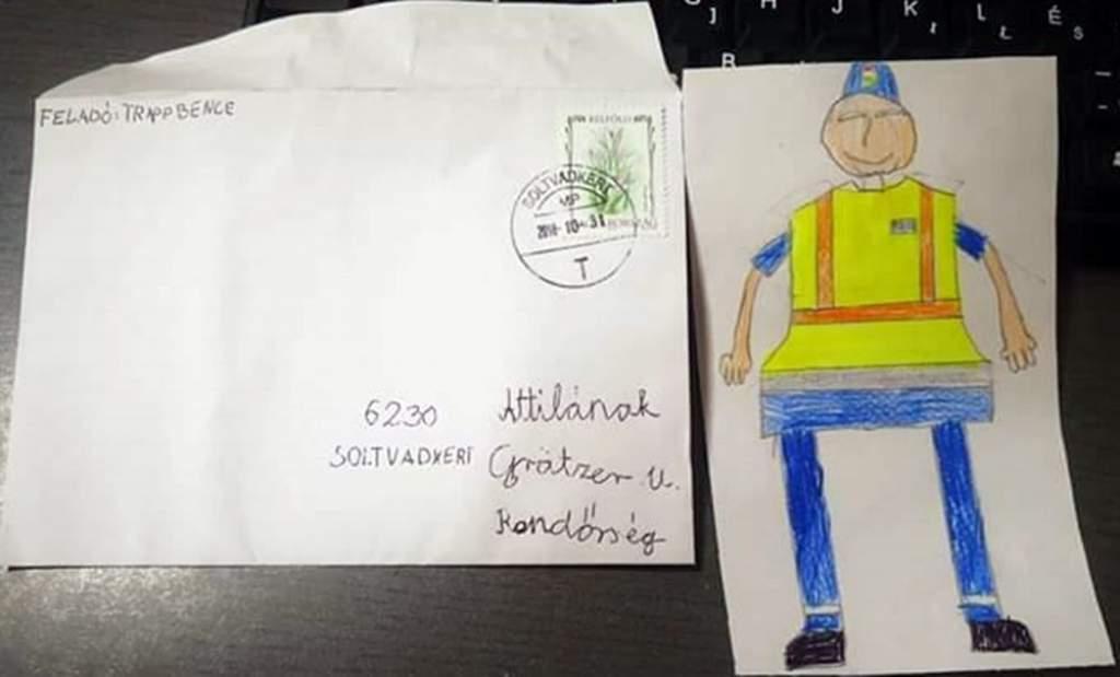 Titokzatos levél a postaládában