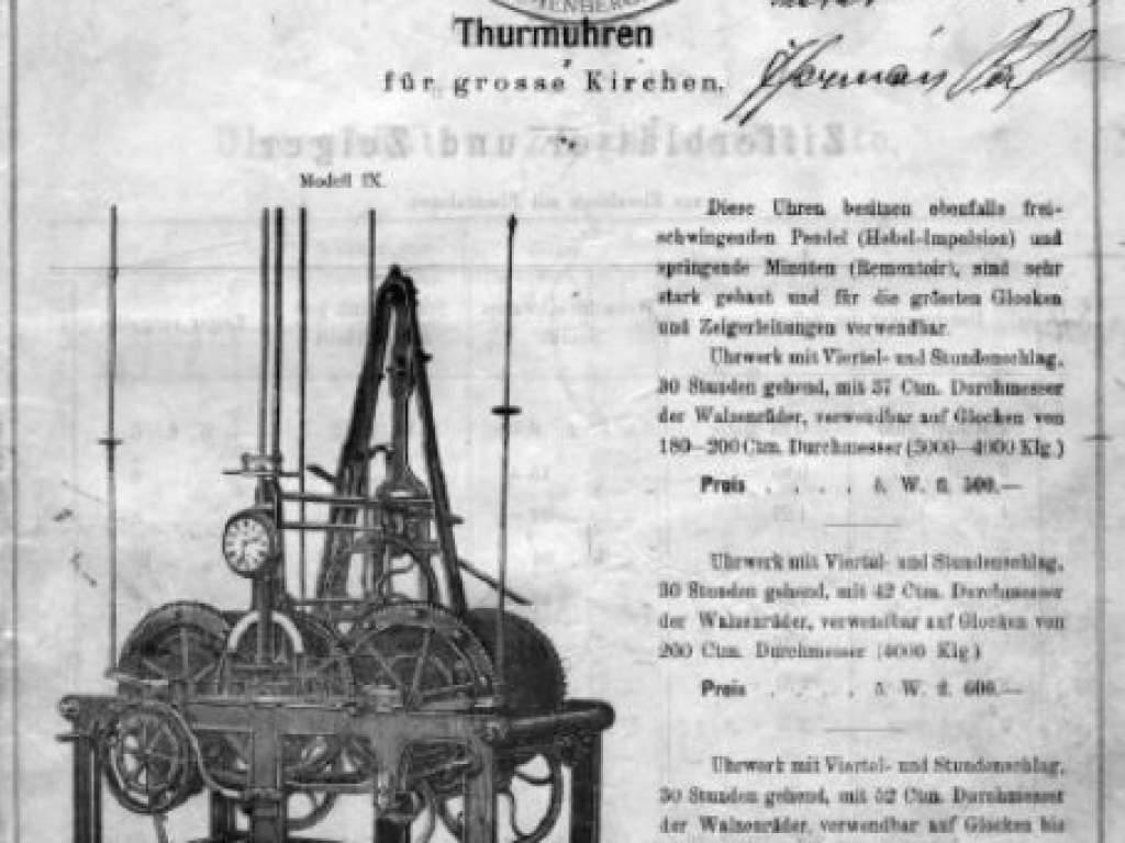 Titkok a levéltárból - Az Újtemplom toronyórájáról