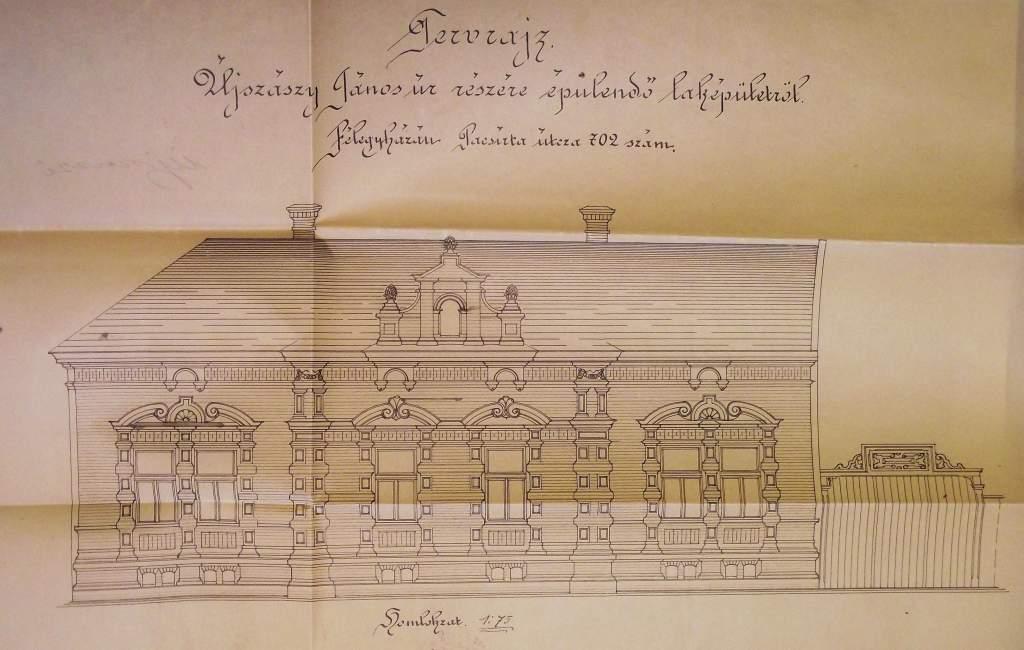 Titkok a levéltárból - Ujszászy János építőmester háza