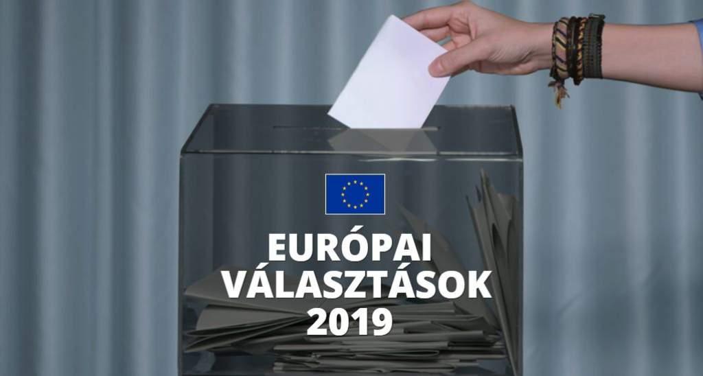 Szavazókörök az EP-választás idején