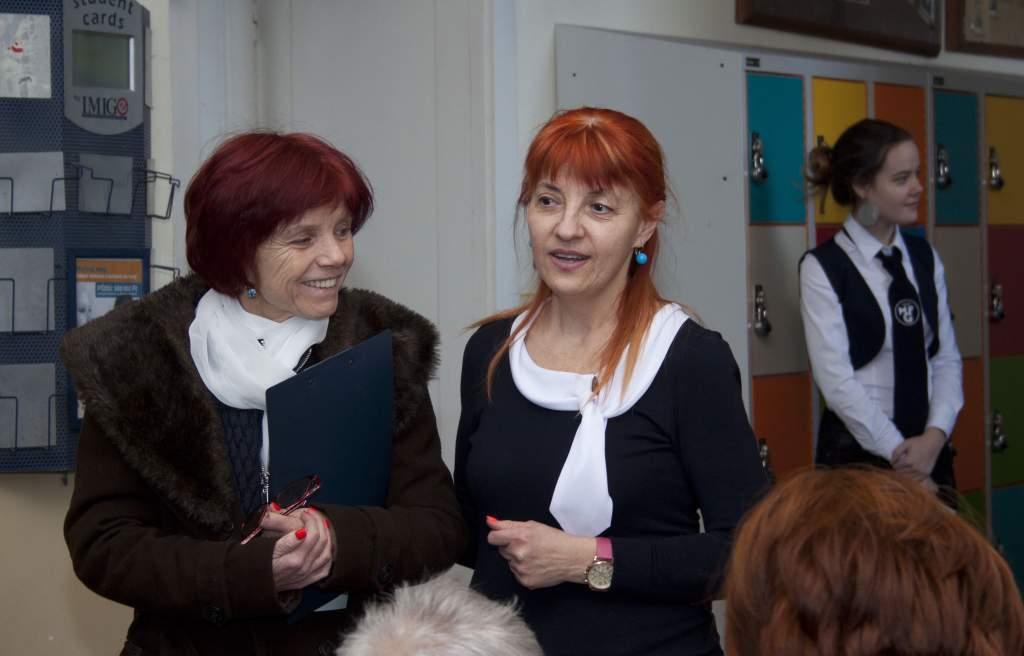 Az egykori nyelvtanárra emlékeztek a Móra Ferenc Gimnáziumban