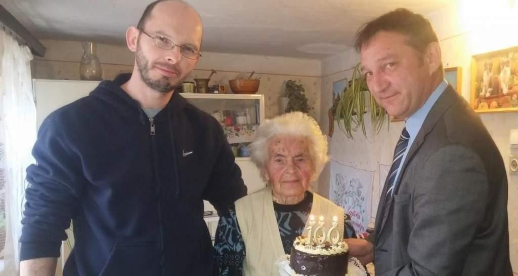 Századik születésnapját ünnepli Pálmonostora legidősebb lakója
