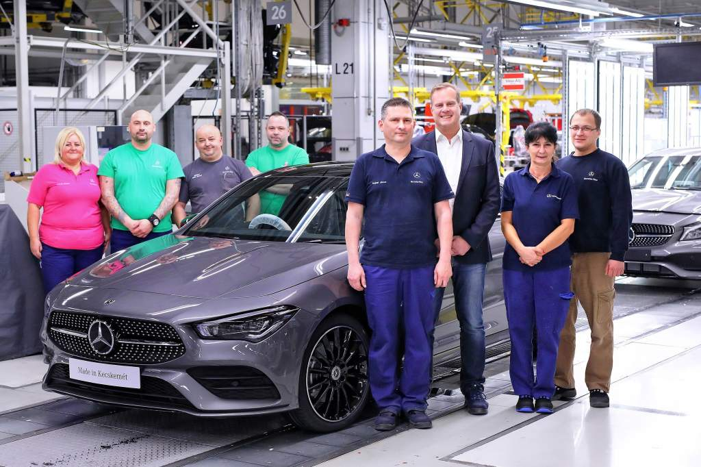 Új CLA Coupé gyártásába kezd a Mercedes-Benz