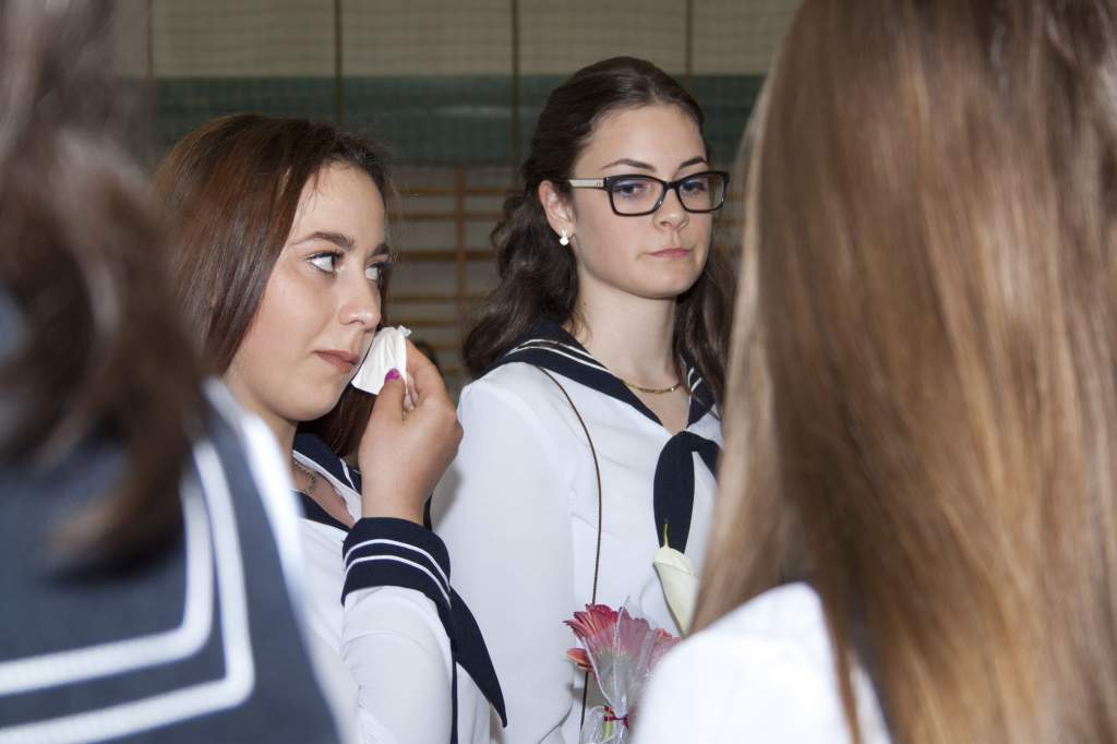 Megkapták a ballagó tarisznyát a közgés diákok