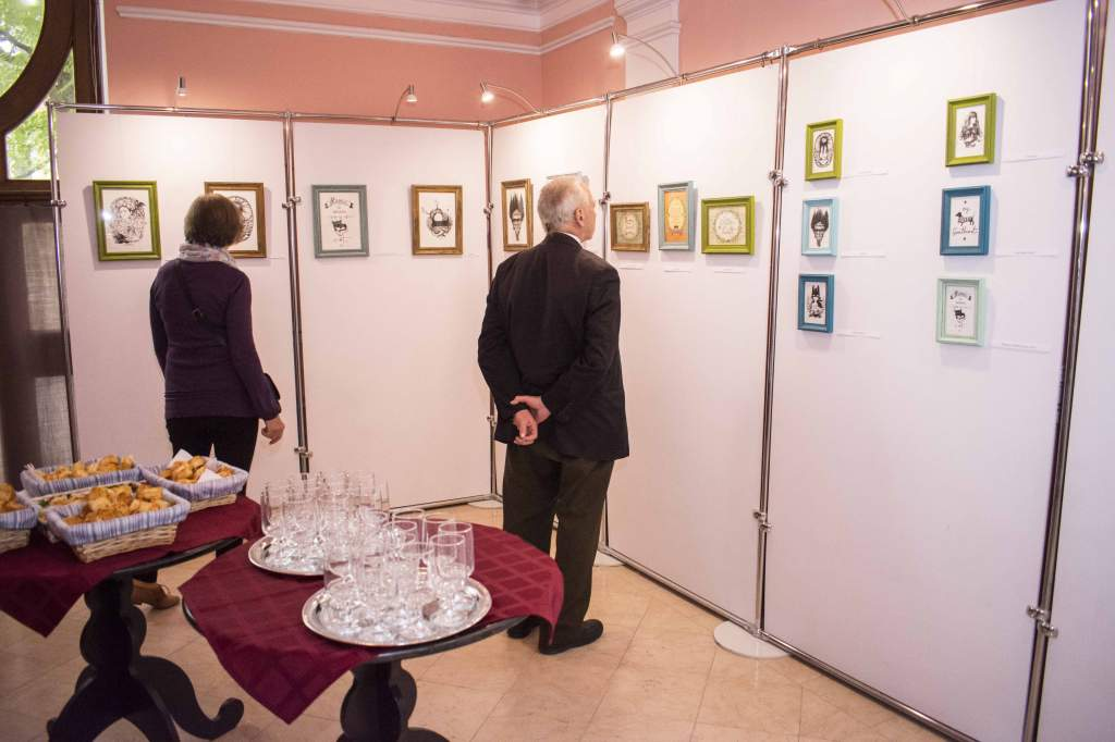 Mesés rajzok kiállítása