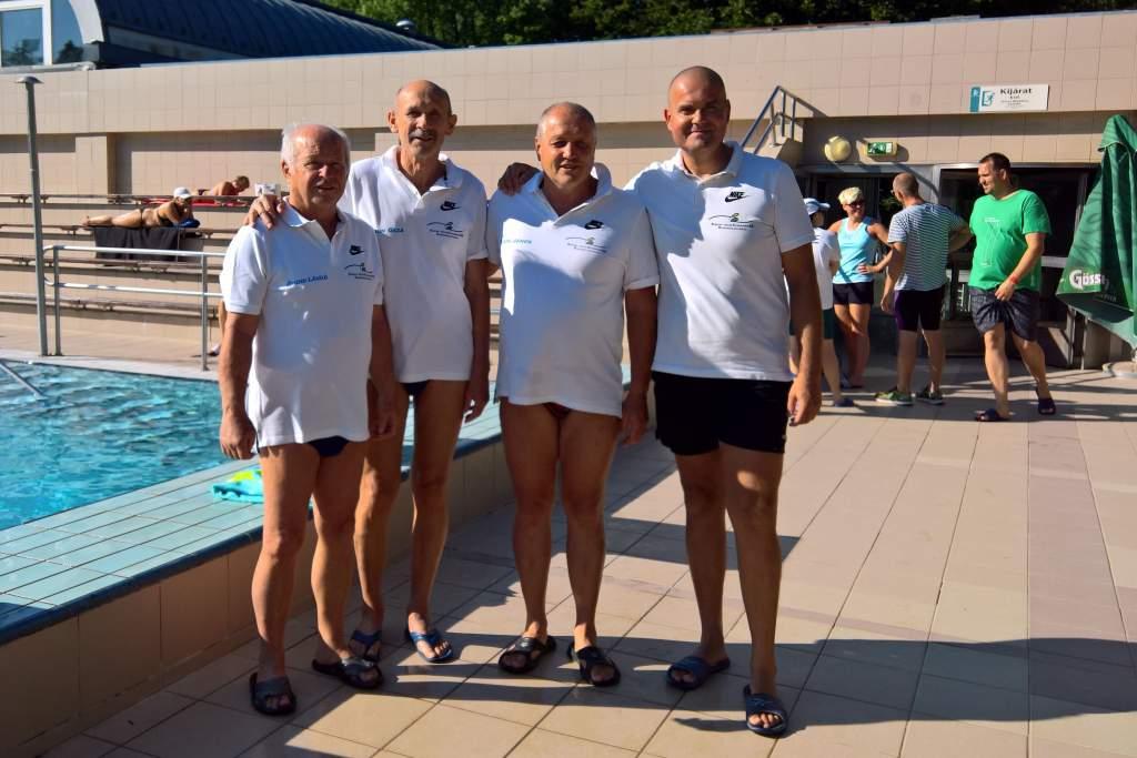 Magyar bajnok lett szenior úszásban a félegyházi Sebők János