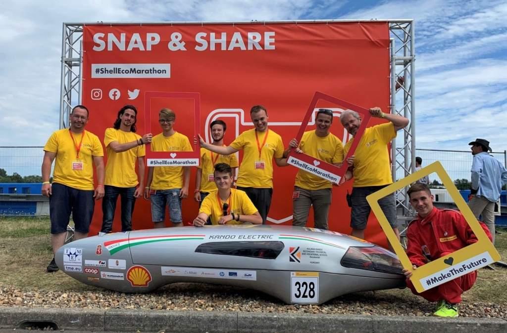 Véget ért a Shell-Eco marathon