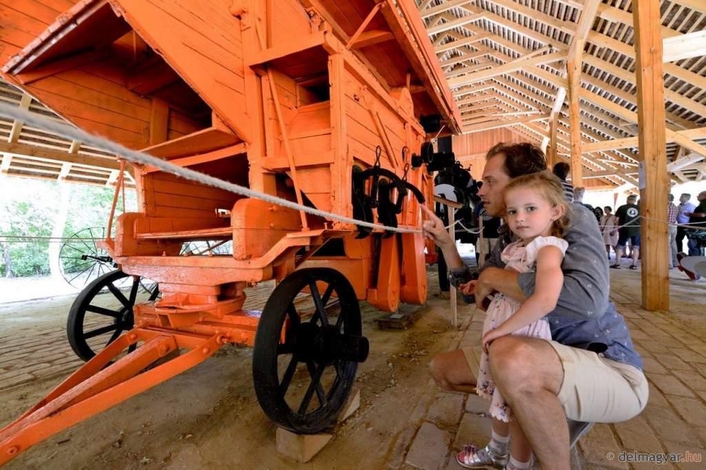 Mezőgazdasági gépgyűjtemény az Ópusztaszeri Nemzeti Történeti Emlékparkban