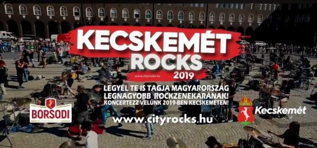 Rekordszámú jelentkező a KecskemétRocks 2019-en