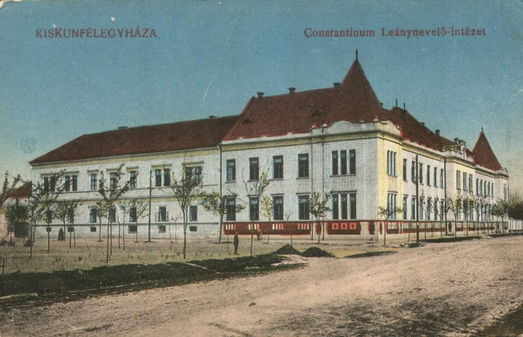 A félegyházi Constantinum intézet énekkari sikerei a '30-as években