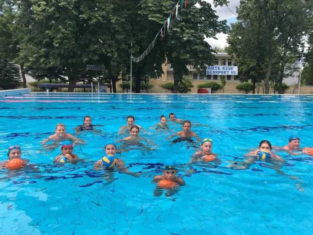 Mozgalmas edzések a DMTK nyári táboraiban