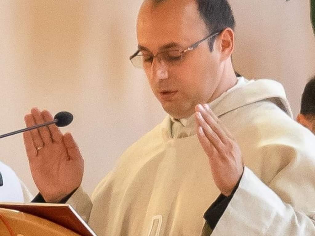 Tuzson Attila az Ótemplom új káplánja
