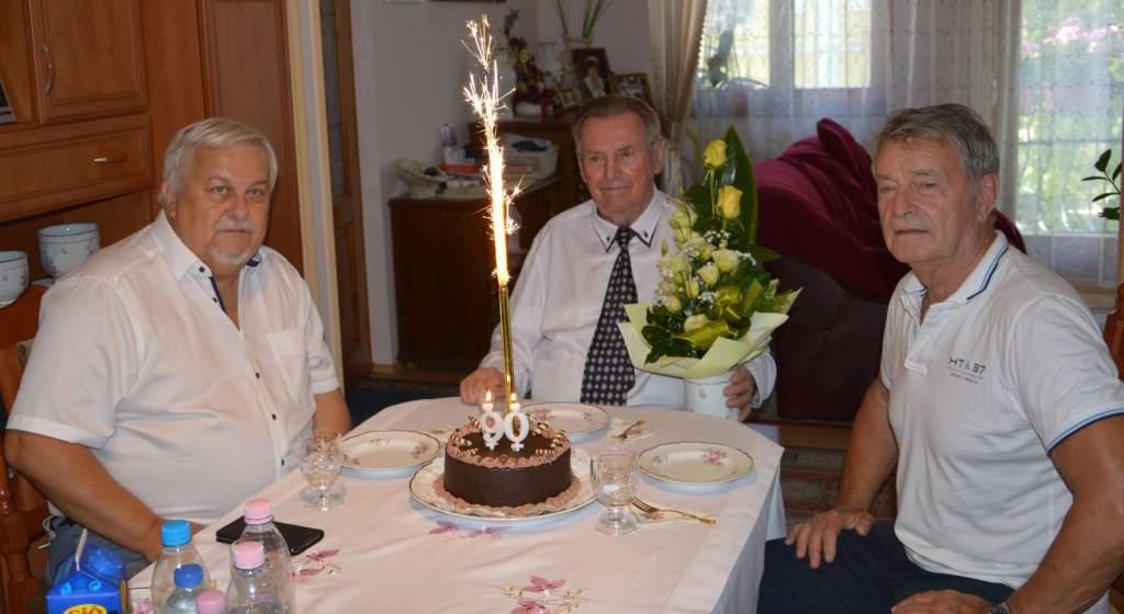 90 éves lett Koncz József
