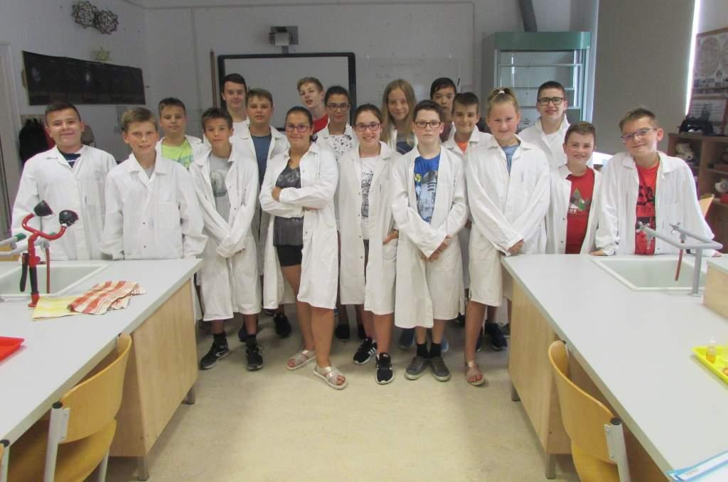 Természettudományos táborok a Móra gimnáziumban