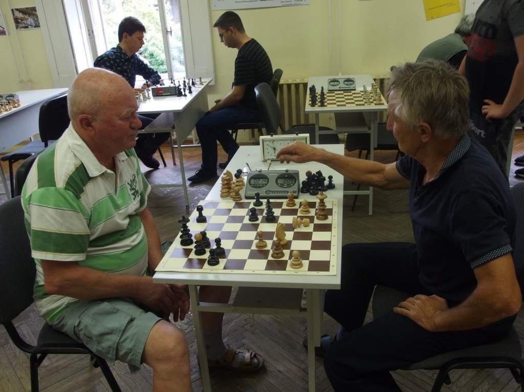 A sakktáblák is előkerültek a libafesztiválon