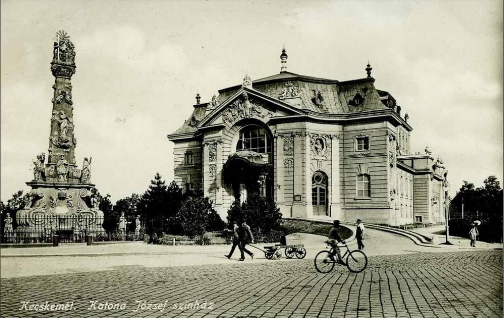 Megújult a kecskeméti Katona József Színház tetőszerkezete