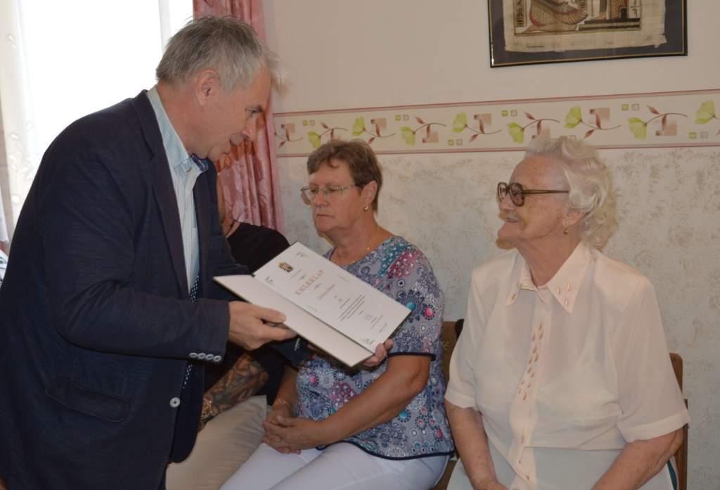 Czibolya Jánosné 90. születésnapja