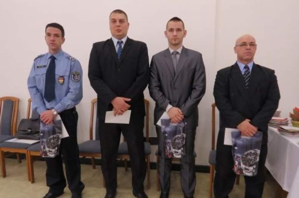 Elismerés félegyházi rendőröknek