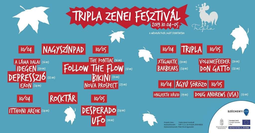 Tripla Zenei Fesztivál a Rocktárban