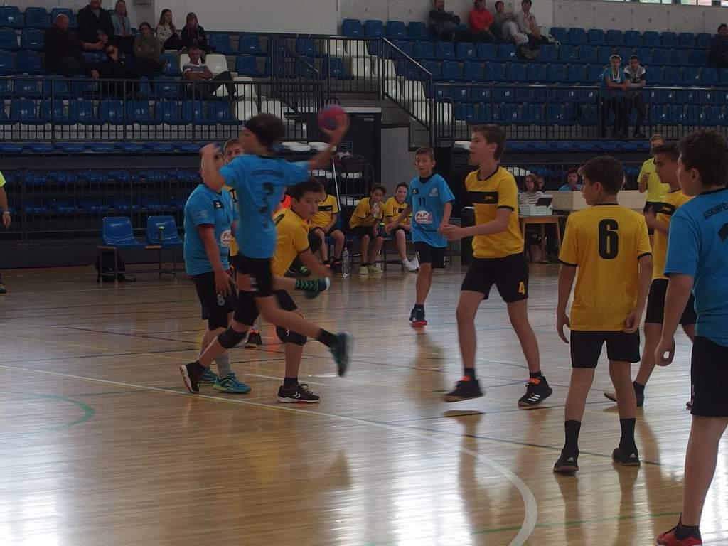 U14-es kézilabda bajnoki forduló Kiskunfélegyházán
