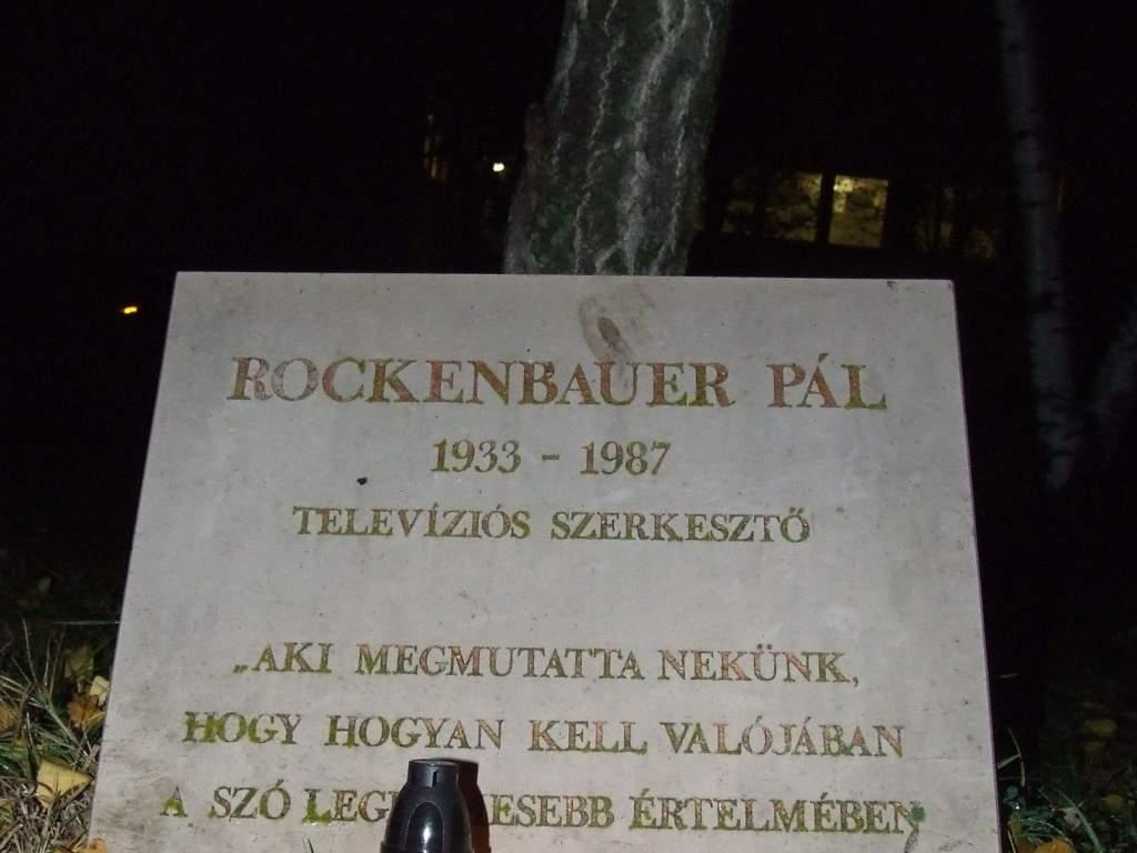 Emlékezés Rockenbauer Pálra