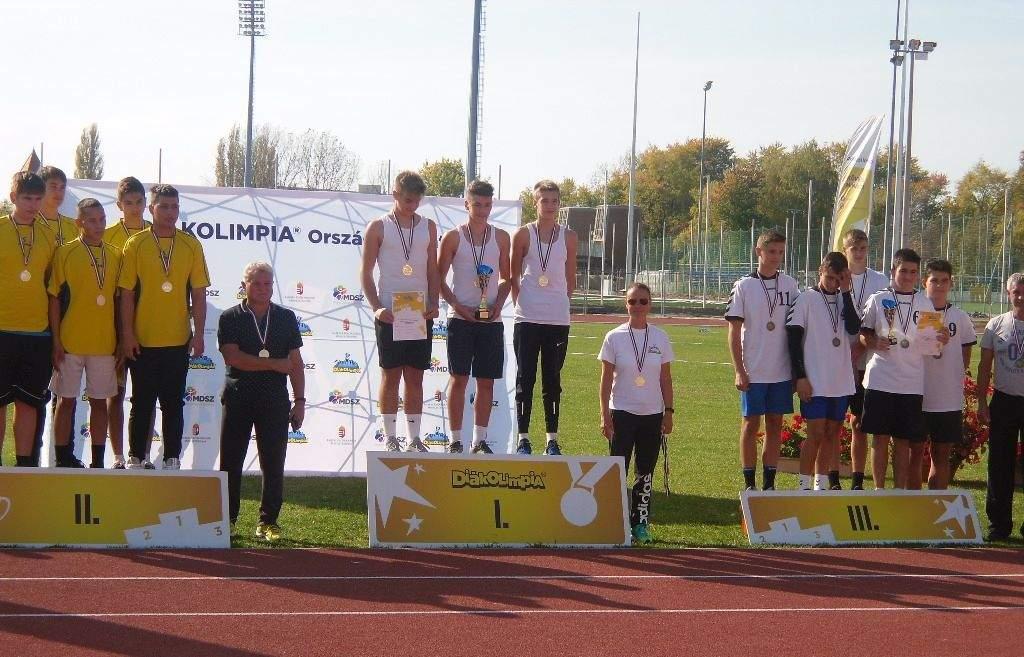 Megvédték diákolimpiai bajnoki címüket a józsefes súlylökők