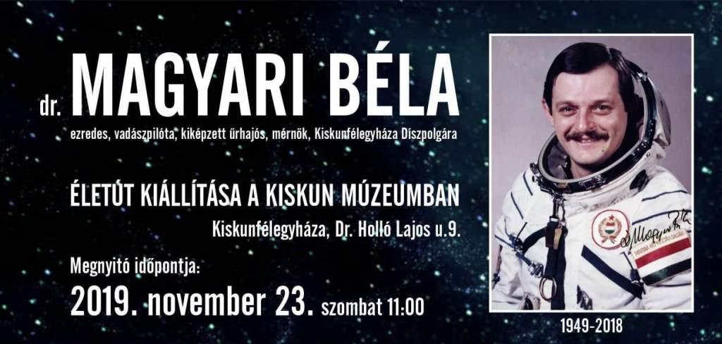 Magyari Béla életút kiállítása