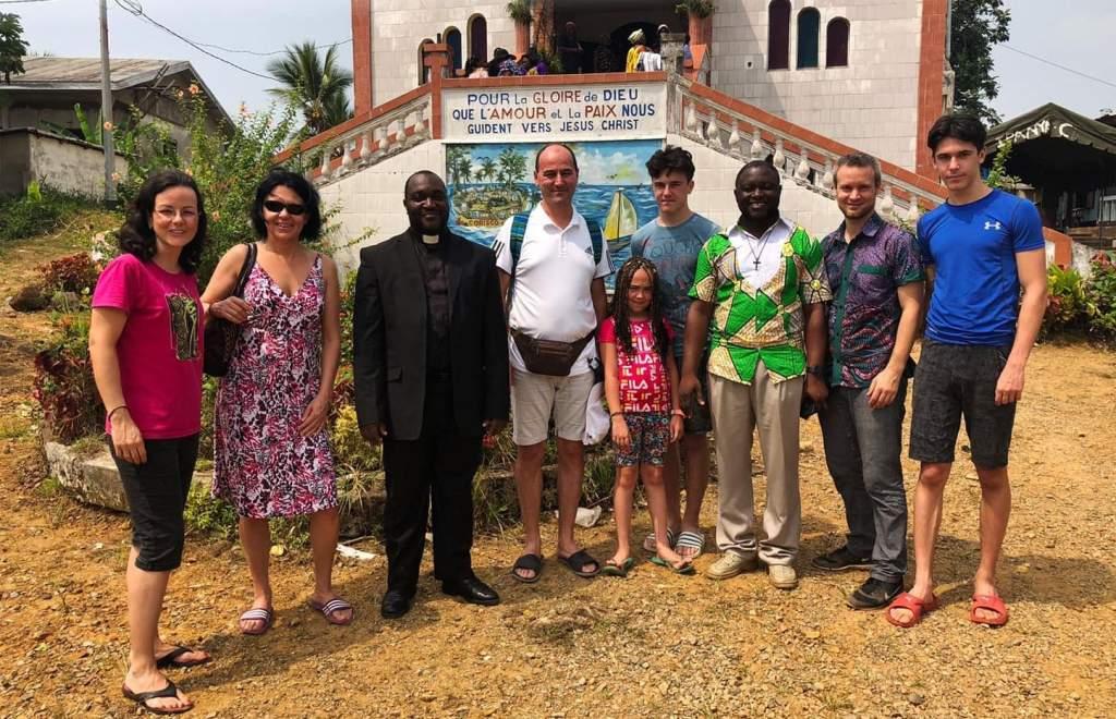 Látogatás a kameruni misszióban