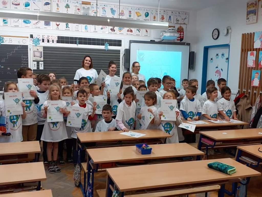 A fenntarthatóság nagykövetei a Batthyány iskolában