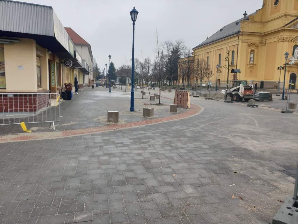 Ismét járható az Oskola utca és a Pázmány utca közötti szakasz