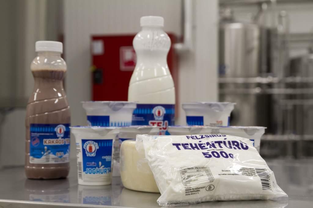 Megkezdte a termelést a petőfiszállási tejfeldolgozó üzem