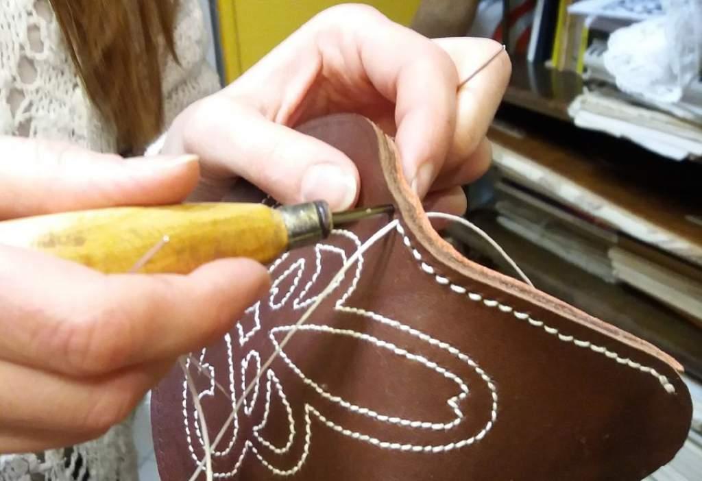 Bemutatkozik a Mezgé bőrműves szakköre