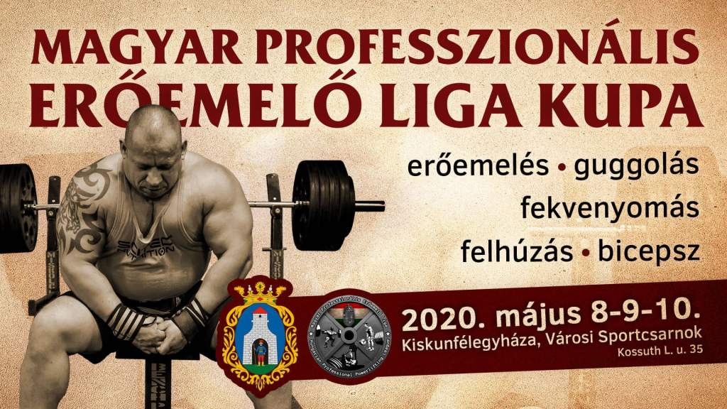 Gyűlnek a nevezők a Magyar Professzionális Erőemelő Liga Kupára