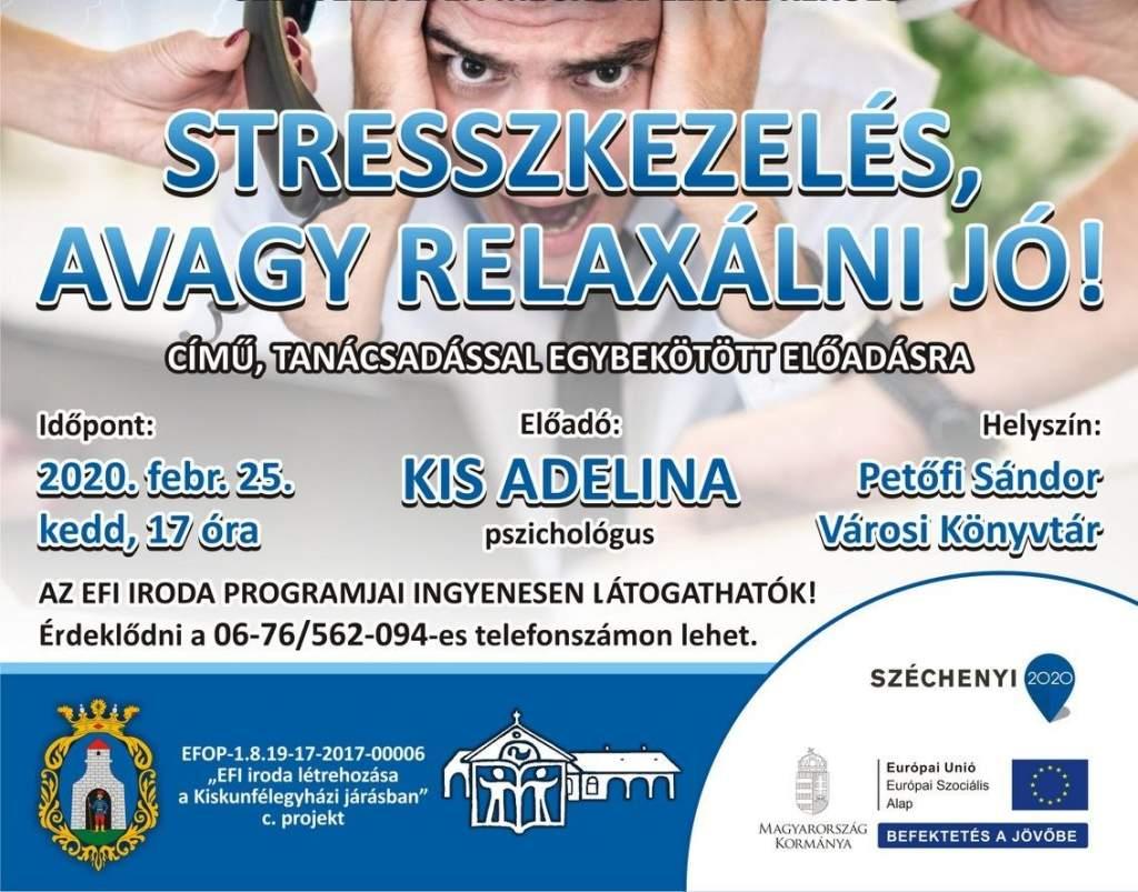 Stresszkezelés, avagy relaxálni jó!