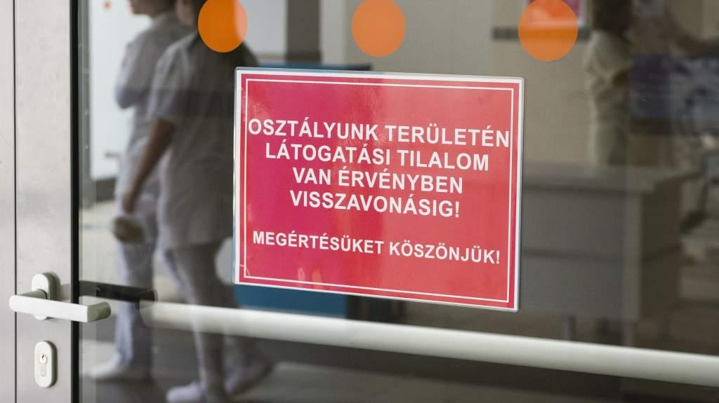 Látogatási tilalom a megyei kórház urológiai osztályán