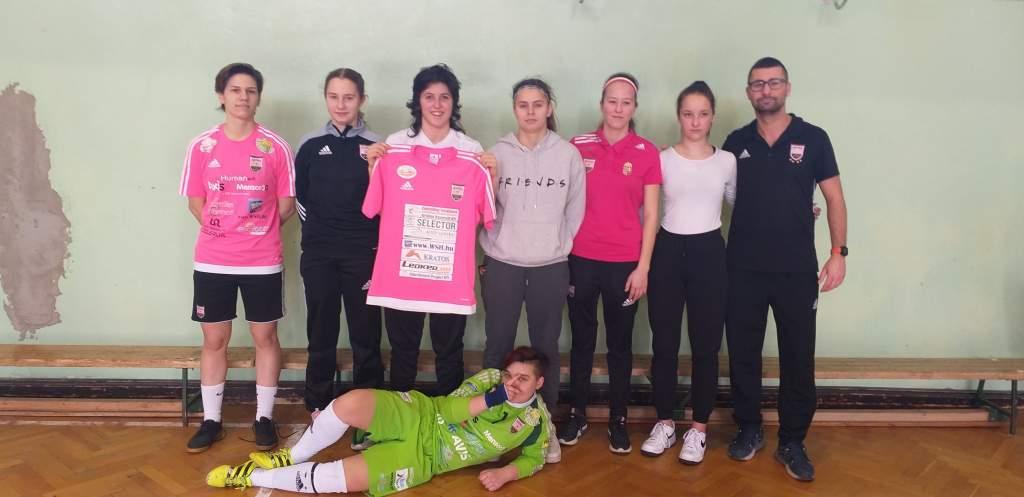 Megyei döntőt nyert a félegyházi leány U20-as futsalcsapat