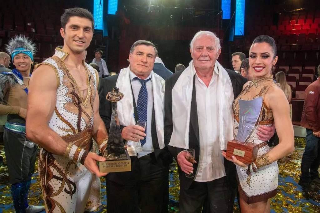 Arany Pierrot-díj a lóhátas balettért