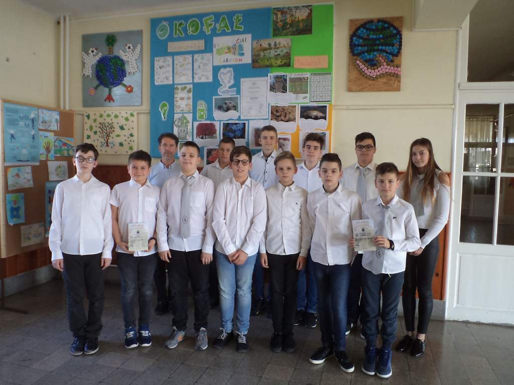 III. helyezés a Curie Környezetvédelmi Emlékversenyen