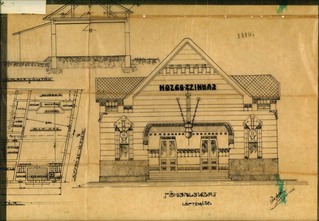 Titkok a levéltárból – Az első félegyházi moziépület