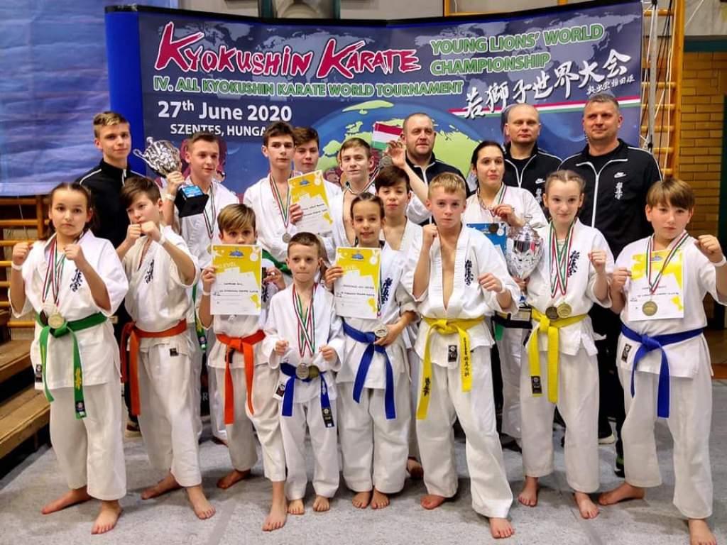 Sikeres szereplés a karate diákolimpián
