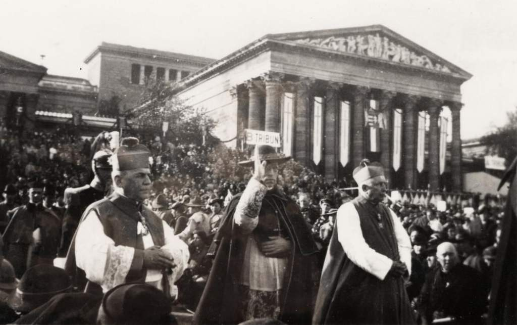 A XXXIV. Eucharisztikus Kongresszus emlékezete Kiskunfélegyházán