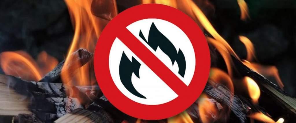 Országos tűzgyújtási tilalom lépett érvénybe