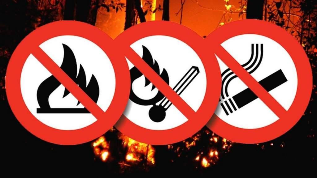 Nem véletlenül van tűzgyújtási tilalom!