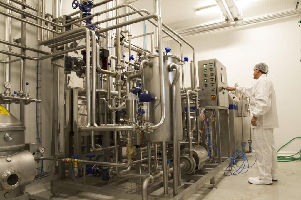 Takarékos üzemmódban a tejfeldolgozó