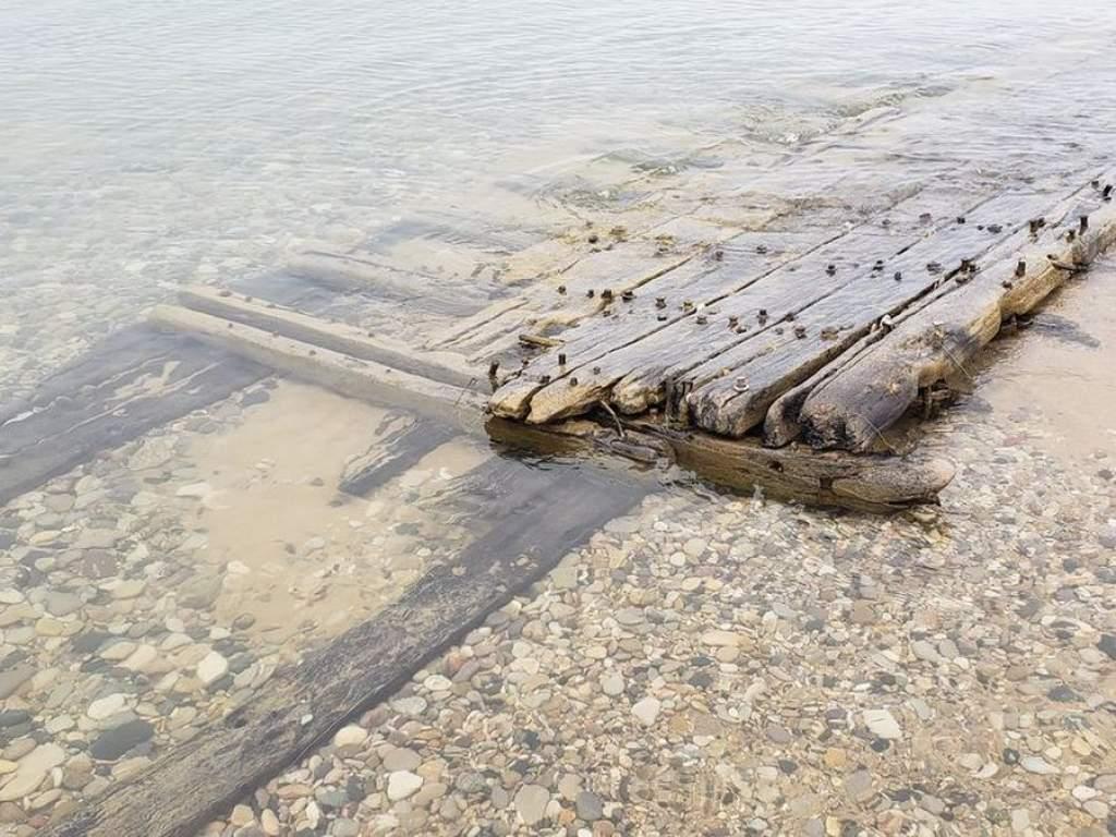 Hajóroncsok kerültek elő a Michigan-tóból