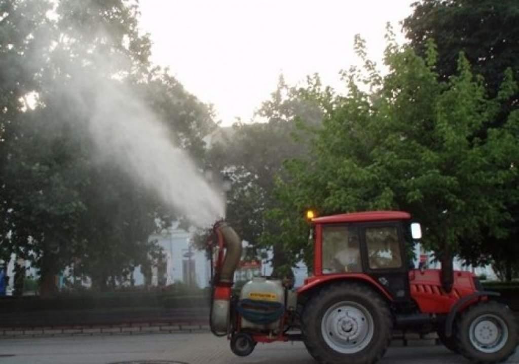 Növényvédelmi permetezés