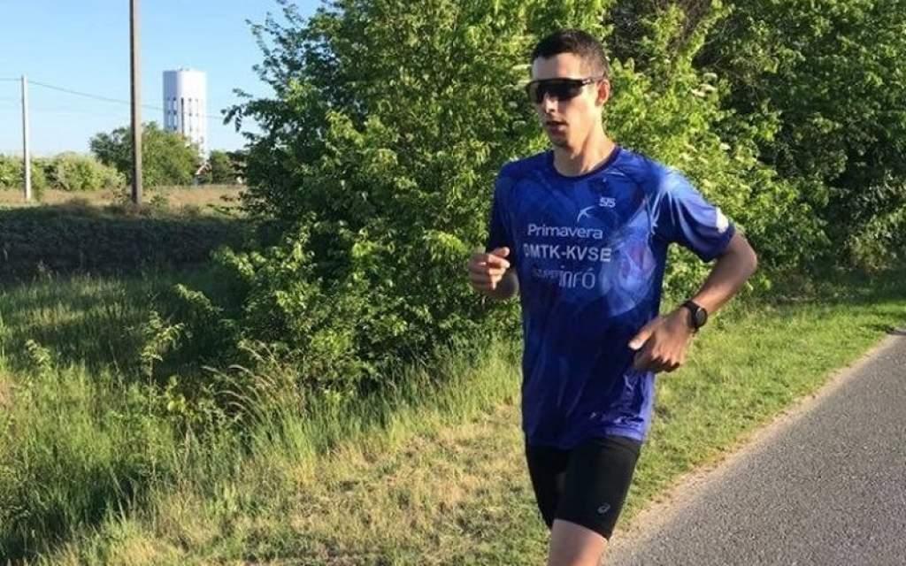 Szarka Ádám a virtuális triatlon győztese
