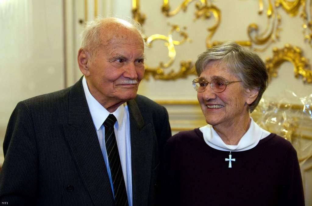 Elhunyt Göncz Árpád özvegye