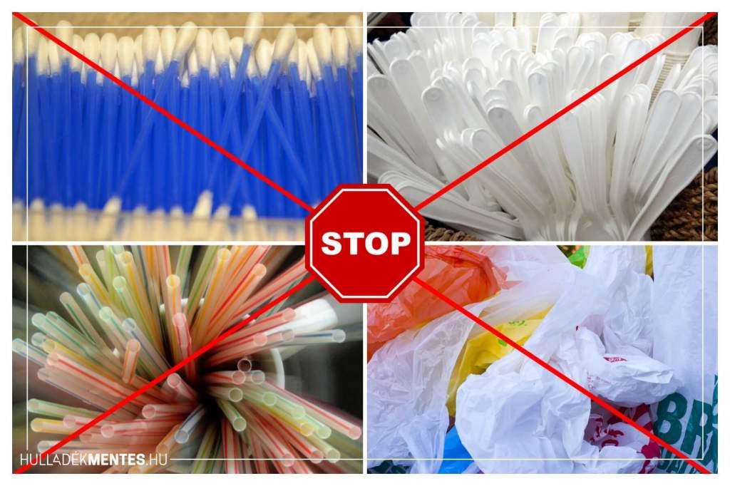 Jövőre nálunk is betilthatják az egyszer használatos műanyagokat
